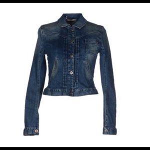 PATRIZIA PEPE  NEW UNWORN Stretch Denim Jacket  4
